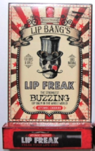 Dr Lip Bangs Lip Freak ATOMIC CHERRY Moisturizing All Natural Buzzing Li... - $6.50