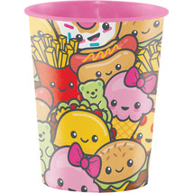 Junk Food Fun 16 Oz. Plastic Keepsake Cup, Case of 12 - $24.59