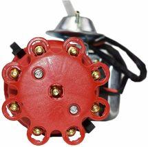 R2R Distributor 50K Volt E-Coil SBC BBC 327 350 396 454 Chevrolet Red Small Cap image 5