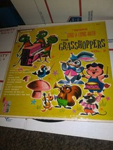 LP Kids Record MORE SING A LONG WITH THE GRASSHOPPERS Vol 2 Diplomat 221... - $5.81