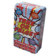 Lagoon True or False? Trivia Card Game in a Tin Party Game - £9.45 GBP