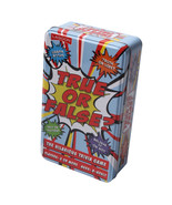 Lagoon True or False? Trivia Card Game in a Tin Party Game - $12.97