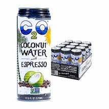 C2O Pure Coconut Water with Espresso | Plant Based | Non-GMO | Dairy Fre... - $25.73