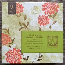 Pre de Provence shea butter enriched guest soaps in box, 9 ct, 25g soaps - $17.00