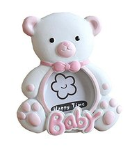 East Majik [Pink Bear] Lovely Pink Baby Photo Frame for 2 inch Photo - $425,82 MXN