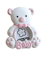 East Majik [Pink Bear] Lovely Pink Baby Photo Frame for 2 inch Photo - $21.96