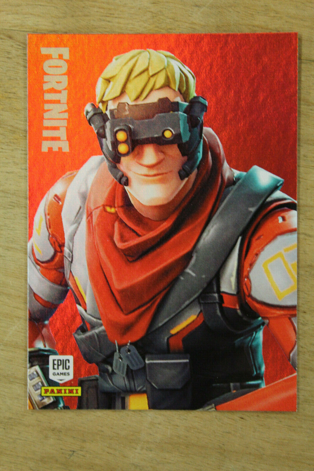 Primary image for 2019 Fortnite Rare Outfit CIRCUIT BREAKER HOLO FOIL Card  #164