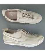Nike Cortez 72 SI Leather Shoes Womens Size 8 Athletic Sneakers Tan White - $74.79