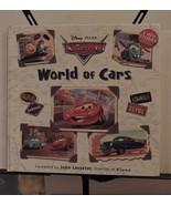 Disney World of Cars Hard Cover (2008) - $19.75