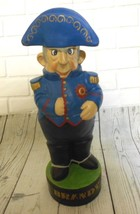 Vintage Royal Navy Admiral Ship Captain BRANDY Figure Albertas Ceramic D... - $37.01