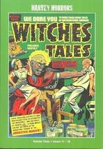 Witches Tales Vol #3 - Harvey Horrors - Precode Horror Comics 1952 - Full Color - $18.95