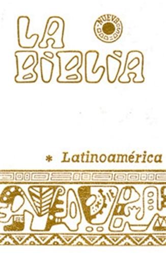 Biblia latinoamericana blanca con indice  bolsillo  11885