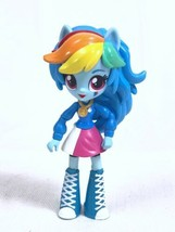 "My Little Pony Rainbow Dash Equestria School Pep Rally Mini Doll 2016 4.75"" - $9.79"