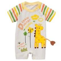 Toddler Bodysuit Baby Romper Infant Onesies Creep Short Sleeves Little Giraffe