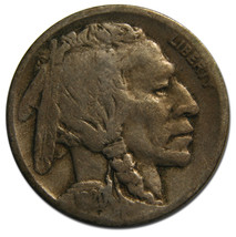 1920D Buffalo Nickel 5¢ Coin Lot # MZ 3562