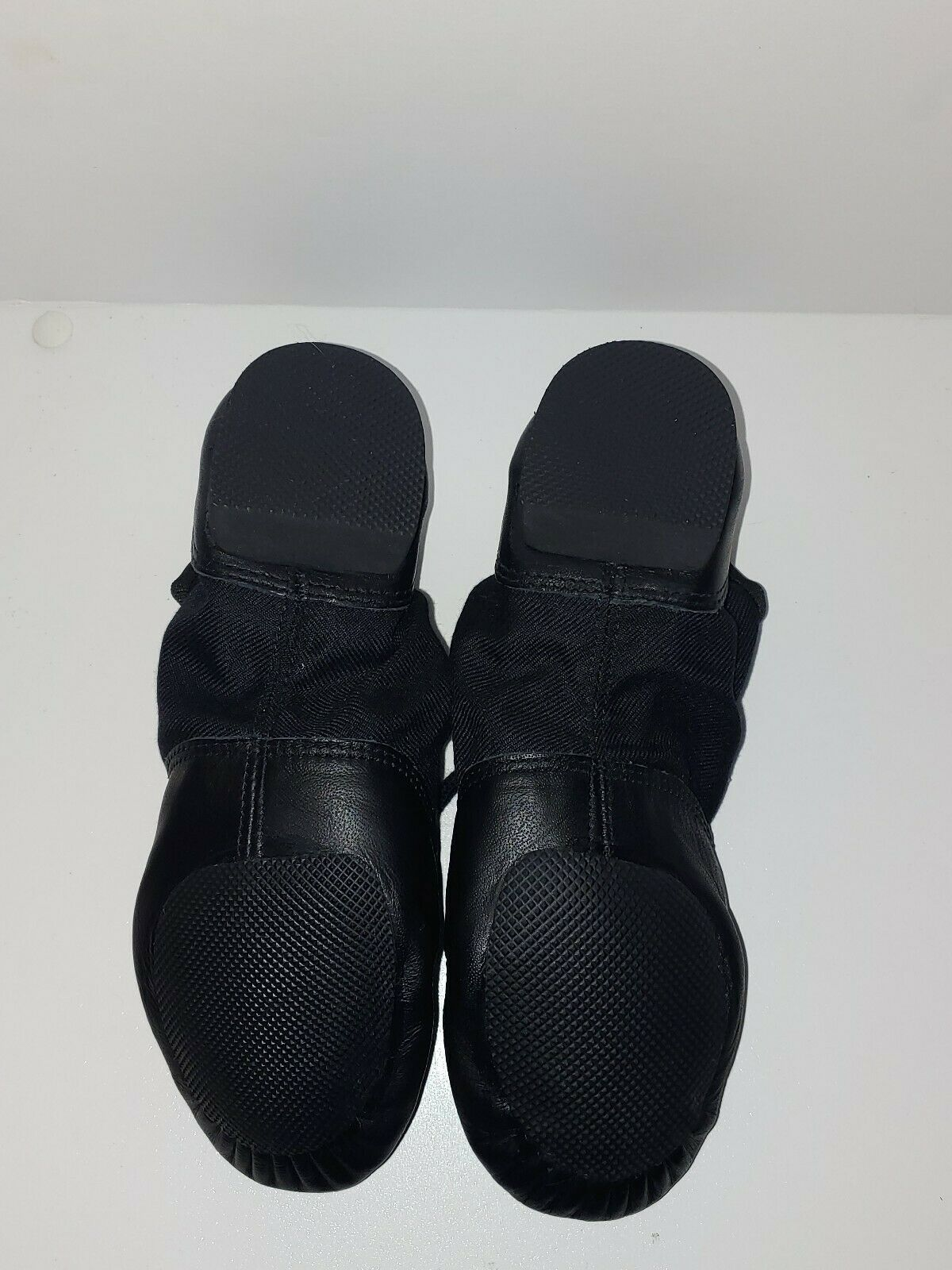 Capezio 358C Black Lace Split-Sole Jazz Shoe Child Size 1M 1 M  image 4