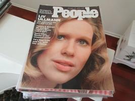 People Magazine , Jan. 27,1975 , Liv Ullman , Tammy & George , Gore Vidal - $24.75