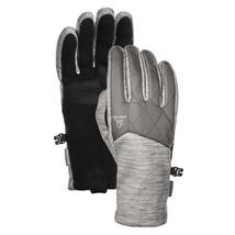 HEAD Damen Lt Grau Hybrid Sensatec Touchscreen Laufen Handschuhe Größe S Nwt
