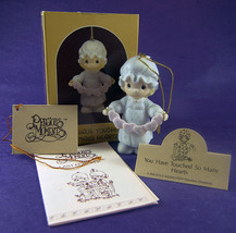 Precious Moments ORNAMENT You Have Touched So Many Hearts 112356 NIB 1987 - $8.79