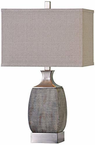 Uttermost 27143-1 Caffaro Table Lamp, Beige