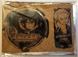 One Piece / Seraph of the End Comiket NFS All-Star Coaster Set * Anime - $7.88