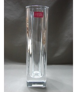 """Cristal d' Arques Lead Crystal Beaubourg Vase - 8"""" Tall - Made in France - $9.99"""