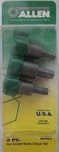 Allen 58663 3 Piece Hex Socket Brake Caliper Set USA - $8.91