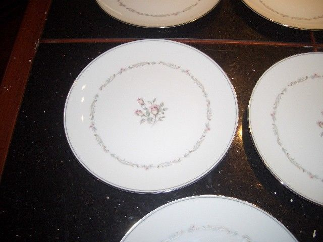 "vintage 8 NORITAKE mayfair 8 1/4""  cake plates ALL GOOD CONDITION"