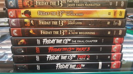 Friday the 13 Part 1 - 8 DVD