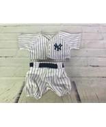 Build A Bear MLB NY New York Yankees Alex Rodriguez 13 Pinstripes Unifor... - $49.49