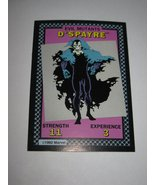 1992 Uncanny X-Men Alert! Board Game Piece: D'Spayre Evil Mutants Card - $1.00
