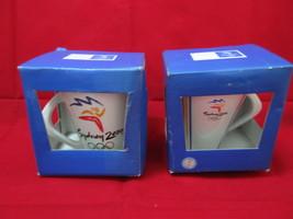 Olympics Sydney 2000 Official Mugs (2 Mugs) - $40.00