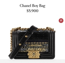 100% AUTHENTIC CHANEL Limited Edition Runway Lace Black SMALL BOY FLAP BAG GHW image 2