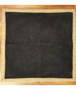 WILLIAMS SONOMA HOME Heavy Natural Linen BLUE MOON Suede 22x22 NWOT RET ... - $249.00