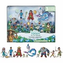 Disney's Raya and the Last Dragon Land of Kumandra Figurine COMPLETE SET (NIP) - $89.98