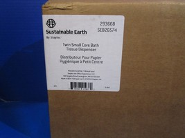 Sustainable Earth by Staples TWIN Small Core Bath Tissue Dispenser FAST ... - $24.75
