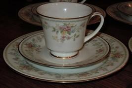 Contemporary Noritake Memory 2882 12 Piece Tea Setting Cup Saucer & Dese... - $69.29
