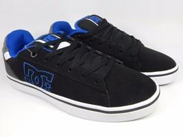 DC Notch Leather Men's Skate Shoes Size US 9 M (D) EU 42 Blue Black