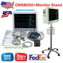 US CMS8000 Vital Signs ICU/CCU Patient Monitor 6-Parameter+Rolling Monit... - $791.01