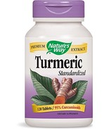 Nature's Way Standardized Turmeric; 95% Curcuminoids; TRU-ID Certified; ... - $33.85
