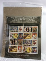 USPS Forever Stamps Vintage Circus Posters Sheet  Of 16 New Stamps - $33.25