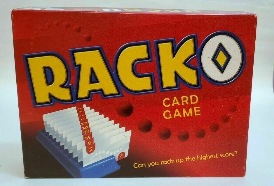 Vintage Racko Card Game (1997) Hasbro Parker Brothers Complete - $19.31
