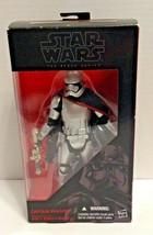 "Captain Phasma Star Wars The Black Series #06 The Force Awakens 6"" Figure - $19.99"