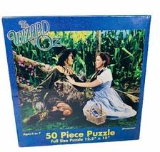 Wizard of Oz puzzle Pressman sealed NEW Turner Judy Garland 50 piece Scarecrow - $29.65