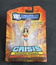 Dc Universe Crisis Wonder Woman Series 1 Figure 27 Action Figure New - $35.00