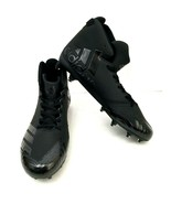 Adidas Freak X Carbon Mid Cleats Size 10 Black Senior Football Lacrosse ... - $65.41