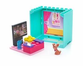 Mega Bloks Barbie Movie House Chihuahua Building Set 19 Pieces - $12.97