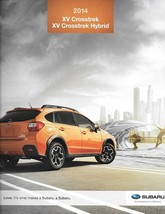 2014 Subaru XV CROSSTREK brochure catalog 14 US 2.0i Limited HYBRID Touring - $8.00