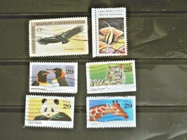 United States Set of 6 Stamps MINT -Wildlife - MNH Free Shipping # S3005 - $1.68