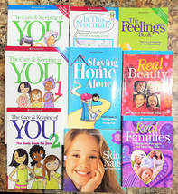 Lot 9 American Girl Library Books Care & Keeping Staying Home Feelings N... - $29.95